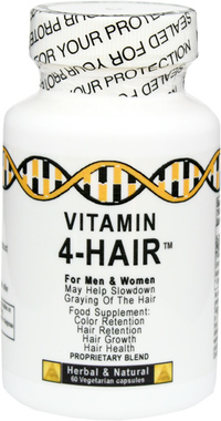 4 Healthy Hair™ - 750 mg, 60 vegetarian capsules