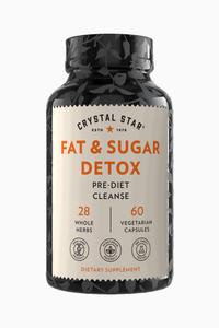 Fat & Sugar Detox, 60 vegetarian capsules (Crystal Star)
