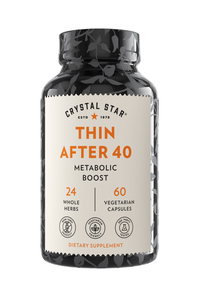 Thin After 40, 60 vegetarian capsules (Crystal Star)