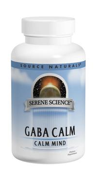 GABA - 750 mg, 45 tablets (Source Naturals)