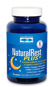 CLEARANCE SALE: Natural Rest Plus, 60 tablets (Trace Minerals Research)