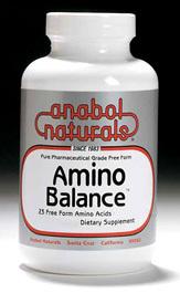 CLEARANCE SALE: Amino Balance - Free Form Amino Acid Powder, 100 grams / 3.53 oz (Anabol Naturals)