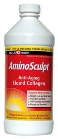 Amino Sculpt Collagen Liquid, 16 fl oz / 473 ml (Health Direct)
