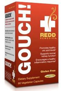 Gouch! 60 vegetarian capsules (Redd Remedies)