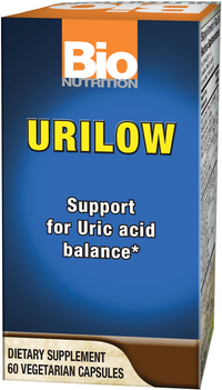 Urilow (formerly Gout Out), 60 vegetarian capsules (Bio Nutrition)