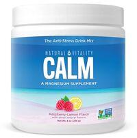Natural Calm Magnesium - Raspberry Lemon, 8 oz (Natural Vitality)