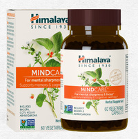 Mind Care, 60 vegetarian capsules (Himalaya USA)