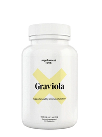 Graviola - 650 mg, 100 capsules (Supplement Spot)