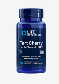 Tart Cherry Extract - 615 mg, 60 vegetarian capsules (Life Extension)