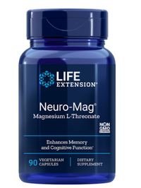 Neuro-Mag™ Magnesium L-Threonate, 90 vegetarian capsules (Life Extension)