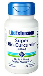 Super Bio-Curcumin - 400 mg, 60 vegetarian capsules (Life Extension)