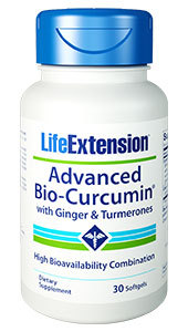 Advanced Bio-Curcumin With Ginger & Turmerones, 30 softgels (Life Extension)