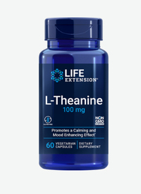 L-Theanine 100 mg, 60 capsules (Life Extension)
