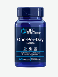 One Per Day Multivitamins, 60 tablets (Life Extension)