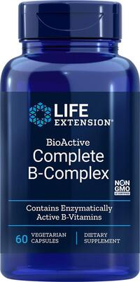 Complete B-Complex , 60 vegetarian capsules (Life Extension)