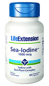 Sea Iodine, 60 vegetarian capsules (Life Extension)