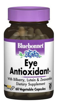 Eye Antioxidant,  60 vegetable capsules (Bluebonnet)