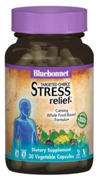 Targeted Choice Stress Relief, 30 Veg Capsules (Bluebonnet)