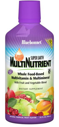 Liquid Super Earth MultiNutrient, 32 Fl Oz / 946 mL (Bluebonnet)