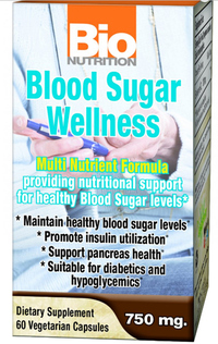 Blood Sugar Wellness, 60 vegetarian capsules (Bio Nutrition)