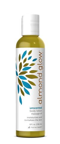 Almond Glow® Unscented Body Massage Oil, 8 fl oz (Home Health)