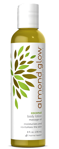 Almond Glow® Coconut Body Massage Oil, 8 fl oz (Home Health)