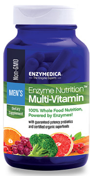 Enzyme Nutrition™ Multivitamin for Men, 60 capsules (Enzymedica)