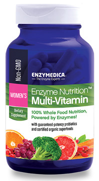 Enzyme Nutrition™ Multivitamin for Women, 60 capsules (Enzymedica)