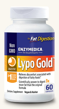 Lypo Gold, 60 capsules (Enzymedica)