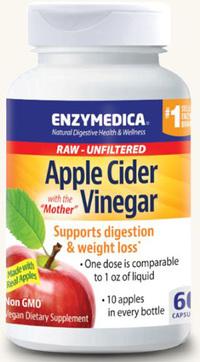 Apple Cider Vinegar 60 Caps (Enzymedica)