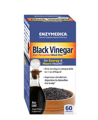 Black Vinegar, 60 capsules (Enzymedica)