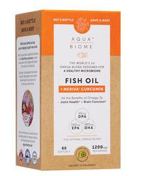 Aqua Biome™ Fish Oil Meriva Curcumin, 60 softgels (Enzymedica)
