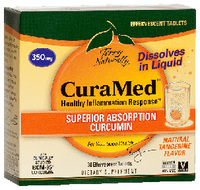 CuraMed® - 350 mg 30 effervescent tablets (Euro Pharma)