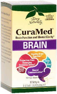 CuraMed® Brain, 60 softgels (Terry Naturally)