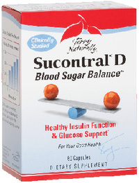 Sucontral® D Blood Sugar Balance, 60 capsules (Euro Pharma)