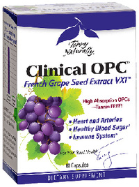 Clinical OPC™ French Grape Seed Extract, 60 capsules (Terry Naturally)