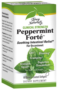 Peppermint Forté™, 60 enteric-coated softgels (Terry Naturally)