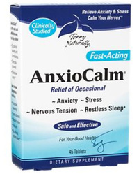 AnxioCalm, 45 Tablets (Terry Naturally)