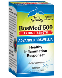 BosMed® 500 Boswellia Extract, 60 softgels (Terry Naturally)