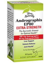 Andrographis EP80™ Extra Strength, 60 capsules (Terry Naturally)