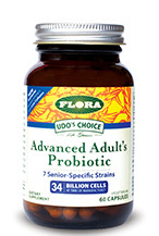 Advanced Adult's Probiotic - 34 Billion, 30 capsules (Flora)