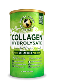 Collagen Hydrolysate Powder- Unflavored 16 oz (Great Lakes)