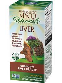 MycoBotanicals® Liver, 60 vegetarian capsules (Host Defense)
