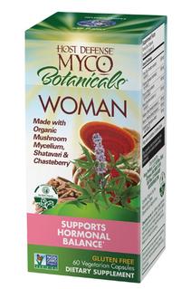 MycoBotanicals® Woman, 60 vegetarian capsules (Host Defense)