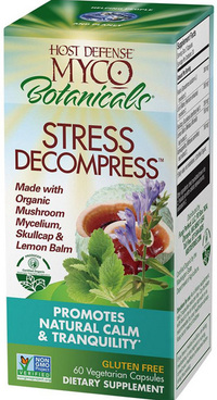 MycoBotanicals® Stress Decompress®, 60 vegetarian capsules (Host Defense)