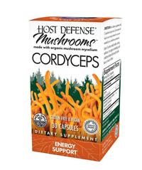 Cordyceps Energy Support, 30 capsules (Host Defense)