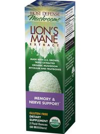 Lions Mane Extract, 1 fl oz / 30 ml (Host Defense)