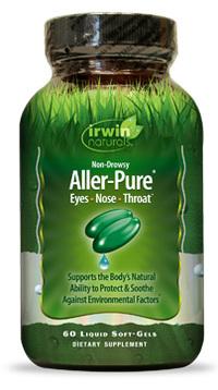 Aller-Pure®, 60 liquid soft gels (Irwin Naturals)