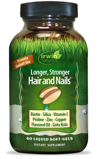 Healthy Skin & Hair plus Nails®, 60 liquid soft gels (Irwin Naturals)