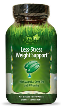 Less-Stress Weight Support®, 75 liquid soft gels (Irwin Naturals)